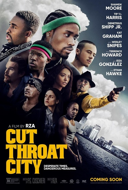 Review: CUT THROAT CITY, After the Hurricane