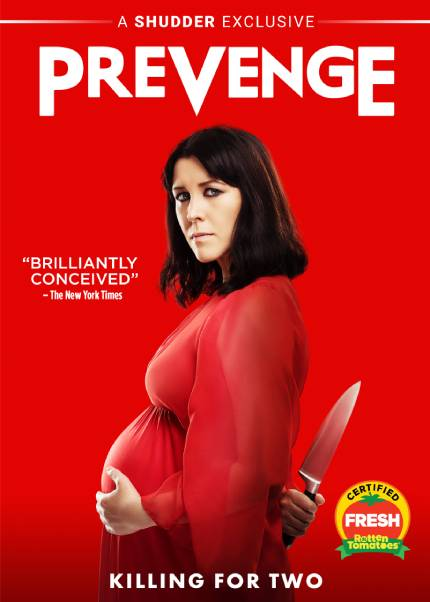 PREVENGE: Enter Our Blu-ray Giveaway From RLJE Films And Shudder