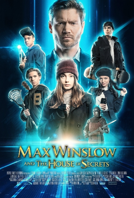 Review: MAX WINSLOW AND THE HOUSE OF SECRETS, Beware of Hosts Without Bodies