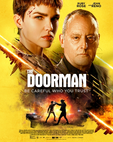 THE DOORMAN Trailer: Ruby Rose Will Take Jean Reno to Hell, If Needed