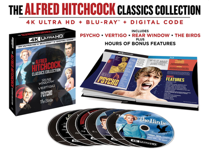 Blu-ray Review: THE ALFRED HITCHCOCK CLASSICS COLLECTION