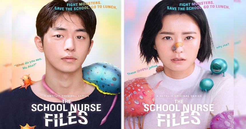 Now Streaming: THE SCHOOL NURSE FILES, Fight Monsters, Save Kids, Eat Lunch