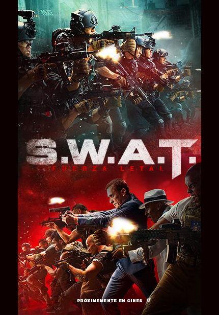 Action Action Action in S.W.A.T. FUERZA LETAL Trailer