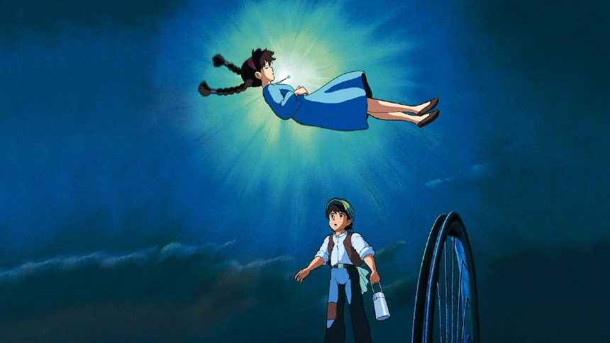 Now Streaming: CASTLE IN THE SKY, Where Dreams Come True
