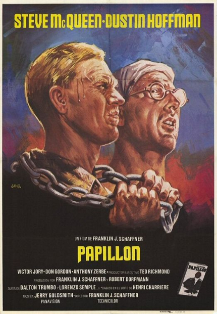 70s Rewind: PAPILLON, Steve McQueen Yearns to Be Free