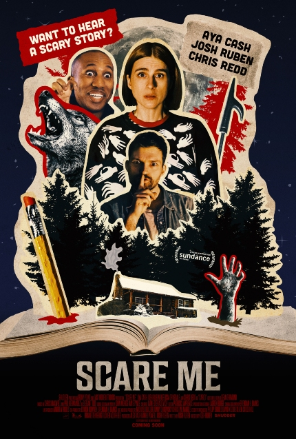 SCARE ME Trailer: You Better Listen to Aya Cash Tell a Story