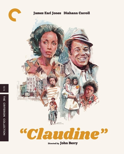 Blu-ray Review: CLAUDINE, Diahann Carroll and James Earl Jones Anchor a Social Classic