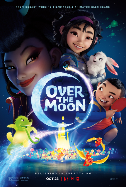 Review: OVER THE MOON, Taking Flight With the Greatest of Ease