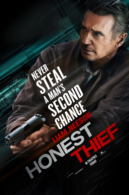 Review: HONEST THIEF, Liam in Love, Still an Action Star