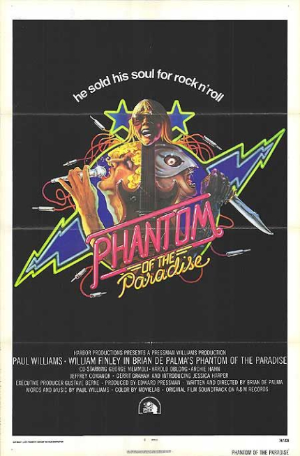 70s Rewind: PHANTOM OF THE PARADISE, Monsters From The Id Live Among Us