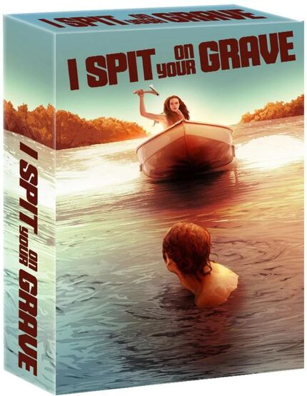 Now on Blu-ray: I SPIT ON YOUR GRAVE Gets The Deluxe Treatment from Ronin Flix