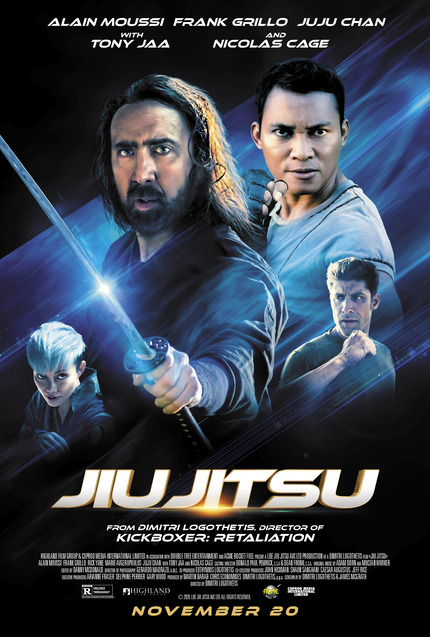 Review: JIU JITSU, or How to Ruin a Movie About Nic Cage Fighting an Alien