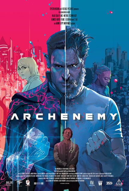 Review: ARCHENEMY Introduces A New Kind Of Cosmic Action Hero On The Streets Of LA