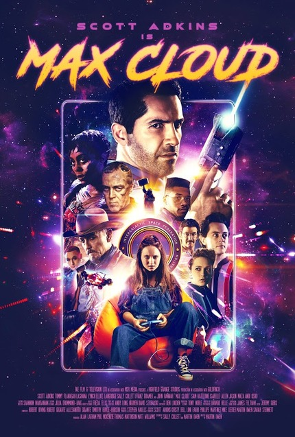MAX CLOUD Exclusive Clip: Scott Adkins Doing What he Does Best, Beating up Bad Guys. This Time in Space