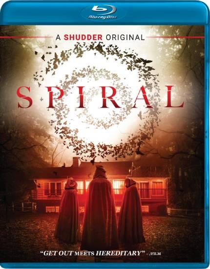 SPIRAL: Blu-Ray Giveaway of Kurtis David Harder's Thriller
