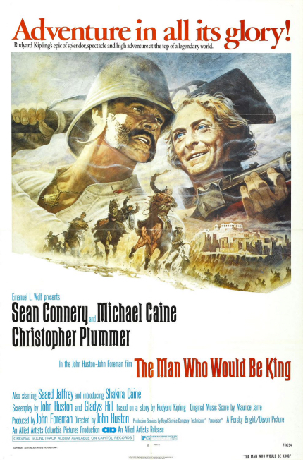 70s Rewind: THE MAN WHO WOULD BE KING, Sean Connery, Of Course