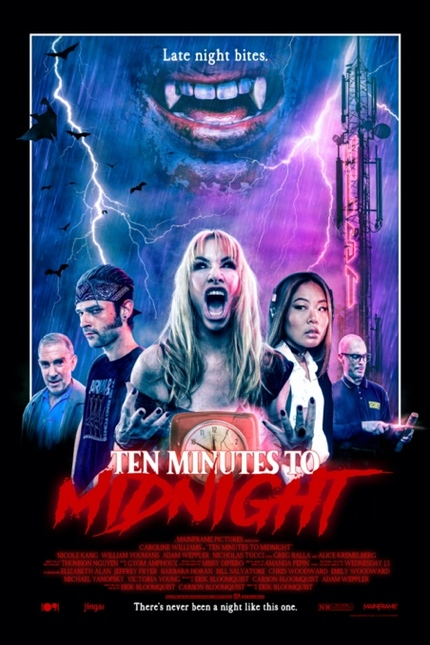 TEN MINUTES TO MIDNIGHT Exclusive Clip: Horror Icon Caroline Williams Loves Her Listeners