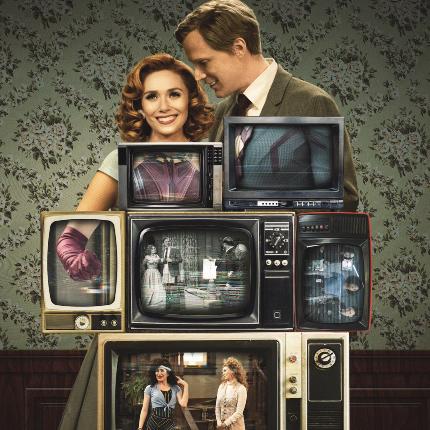 Now Streaming: WANDAVISION, Trippy Televised Trauma