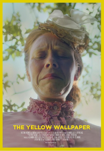 Cinequest 2021 Exclusive: Watch The Teaser For Gothic Feminist Horror THE YELLOW WALLPAPER