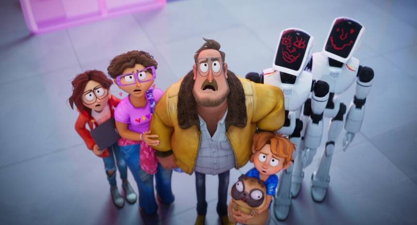 THE MITCHELLS VS. THE MACHINES: It's a Dysfunctional Family vs. The Robot Apocalypse in The Official Trailer