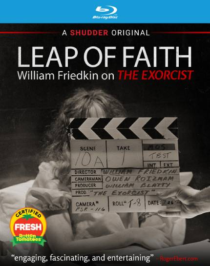 Alexandre O Philippe Wants You to Win a Copy of LEAP OF FAITH: WILLIAM FRIEDKIN ON THE EXORCIST