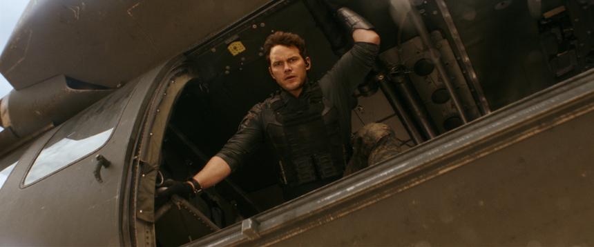First Look at Chris Pratt in Amazon's THE TOMORROW WAR