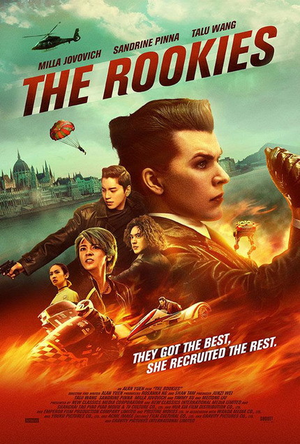 Review: THE ROOKIES, Absurdist Action-Comedy Confounds, Disappoints, Underuses Star