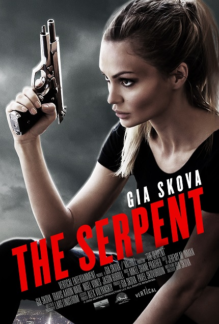 SERPENT Trailer: Gia Skova, Russian Actress And Model, Writes, Directs, Produces And Stars in Her Own Action Film