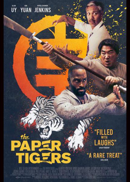 Reseña: THE PAPER TIGERS, artes marciales contemporáneas, prefieren la comedia a la acción.
