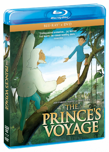 Review: THE PRINCE'S VOYAGE, Monkey Crosses Sea, Discovers Strange New World
