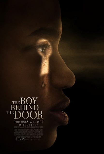 THE BOY BEHIND THE DOOR Trailer. Debut Horror From Duo Charbonier And Powell Coming End of July!