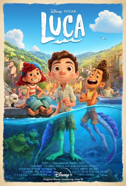 Review: LUCA, Pixar Once Again Delivers Awe and Wonder in Equal Measure