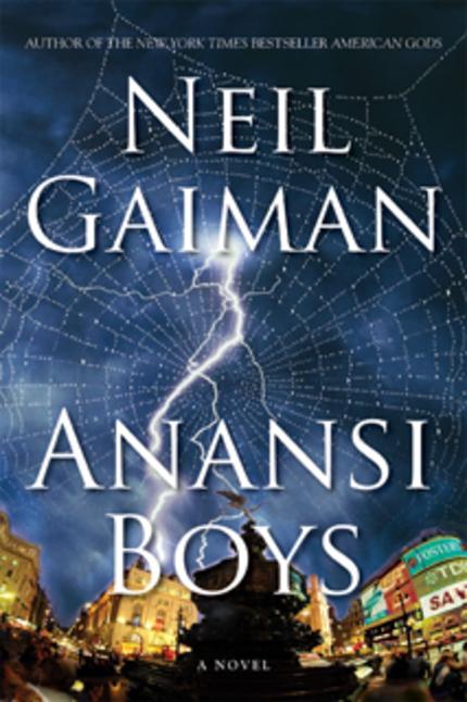 Neil Gaiman's ANANSNI BOYS Ordered to Series at Amazon