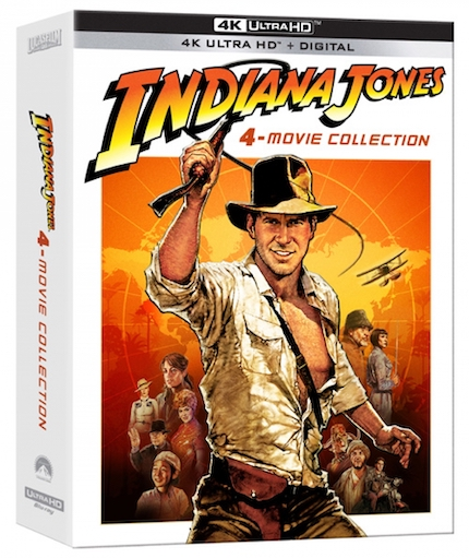 Blu-ray Review: The 4K INDIANA JONES Box Set will Melt Your Face
