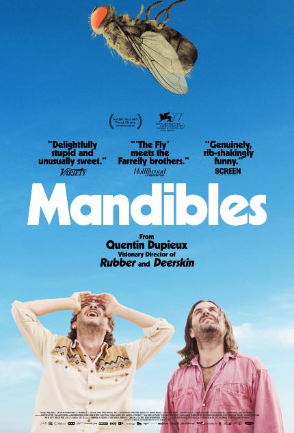 Review: MANDIBLES, Gigantic Fly, Absurd Misadventures