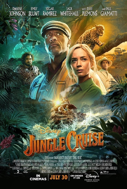 Review: JUNGLE CRUISE, Derivative Story Elevated By Charismatic Leads