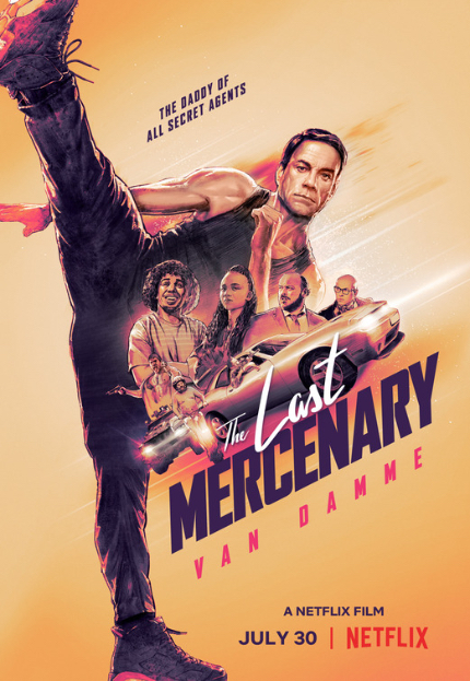 Review: THE LAST MERCENARY, Flaccid, Turgid Time-Waster