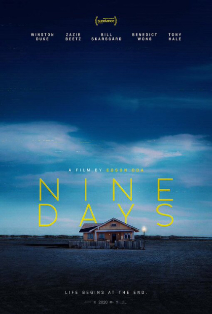 Review: NINE DAYS, Intimate, Moving Exploration of Life, the Universe, and Everything