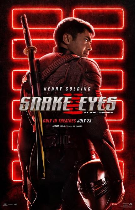 Review: SNAKE EYES: G.I. JOE ORIGINS, Convoluted Plotting, Franchise Expectations Sink Reboot
