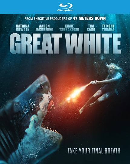GREAT WHITE Blu-ray Giveaway