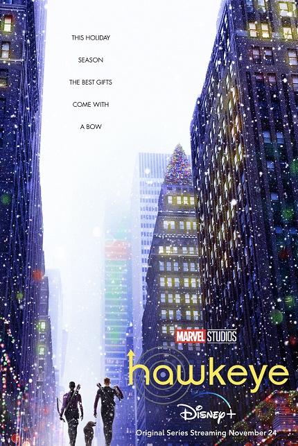 HAWKEYE: First Trailer For The Disney+ Series Hits The Entertainment Bullseye
