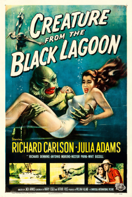 Genre Seeds: CREATURE FROM THE BLACK LAGOON, Creepy and Submerged
