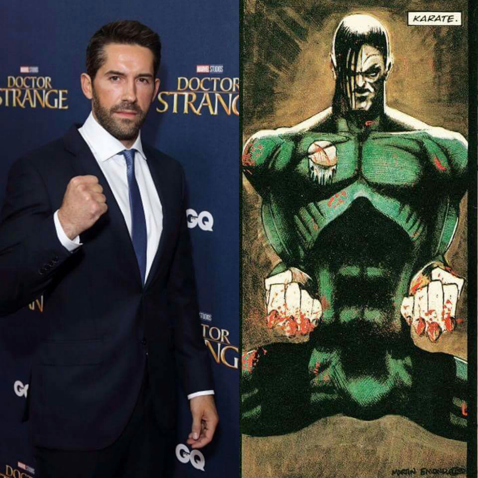 ACCIDENT MAN: Martial Arts Star Scott Adkins To Star, Cast