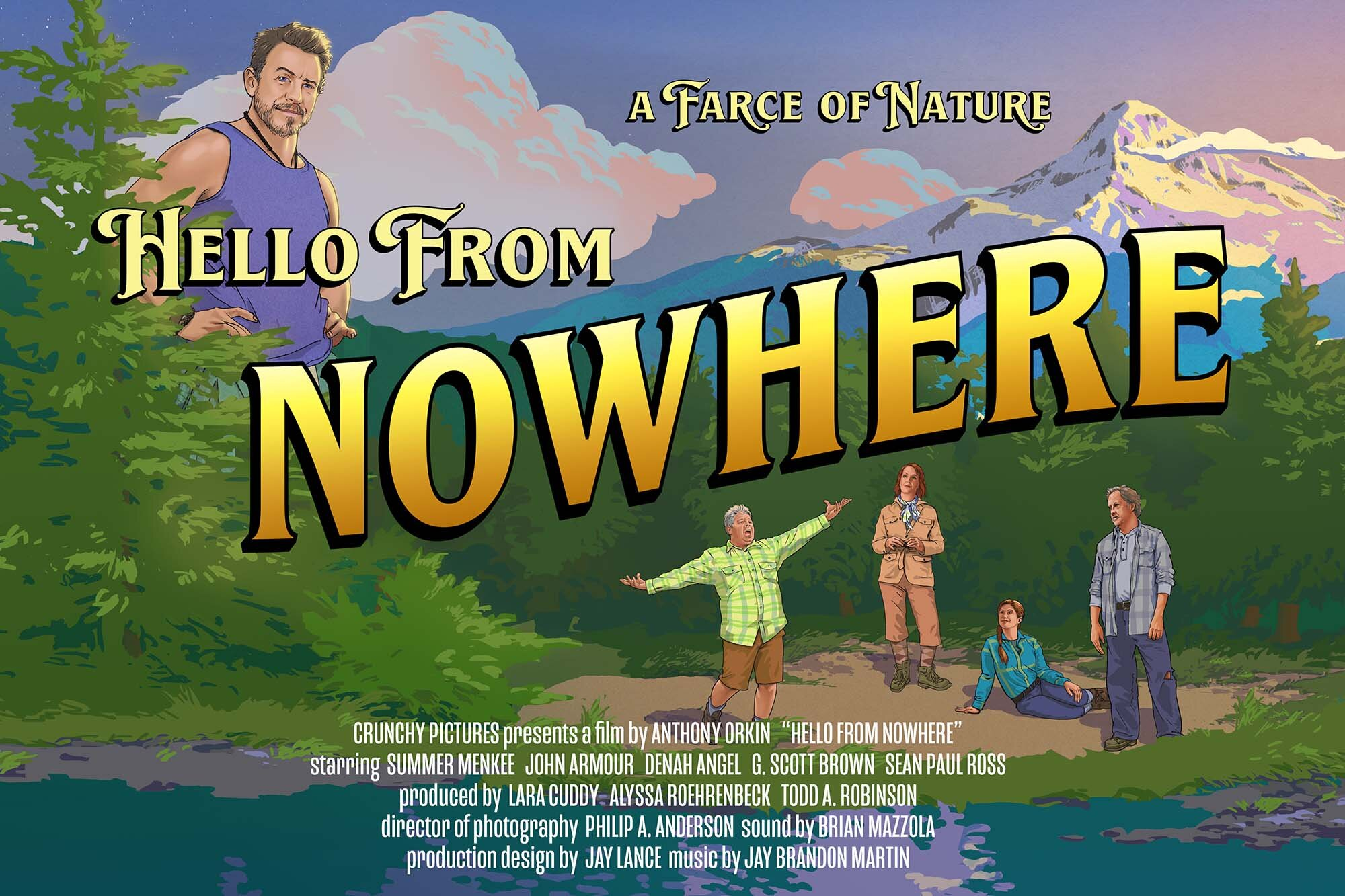 HELLO FROM NOWHERE is the Laugh-out-Loud Musical Thriller You've Been Waiting For